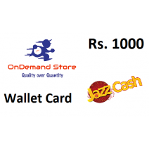 JazzCash Mobile Wallet Rs.1000 - Instant Fast Delivery